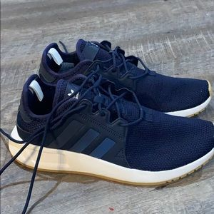 Youth size 6 navy Adidas sneakers